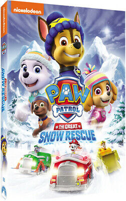 Paw Patrol: The Great Snow Rescue (REGION 1 DVD New)