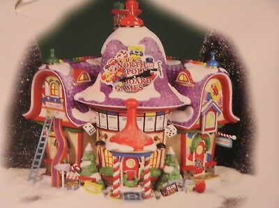 Dept 56 North Pole Series, Board Game Factory