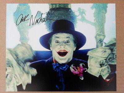 Jack Nicholson The Joker Original Hand Signed Autograph 8 x 10 Photo with COA