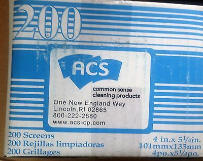 """GRILL/GRIDDLE SCREENS 5 1/2"""" x 4"""" Grill Screen - 200/Box"""