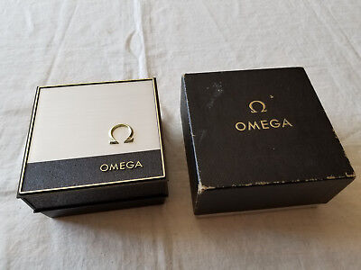 Vintage Omega Watch Empty Box Inside & Outside