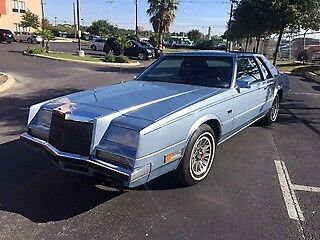 1981 Chrysler Imperial Luxury Coupe 1981 Chrysler Imperial Coupe Mark Cross Edition!