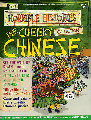 HORRIBLE HISTORIES Magazine Issue 54 - THE CHEEKY CHINESE