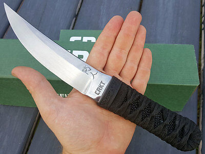 Crkt 2913 Sakimori Fixed Blade Designed By James Williams W/o Box Retails $300!!