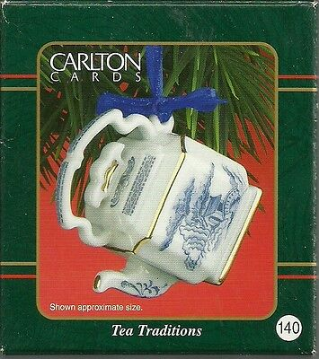 "Carlton Cards Heirloom Collection Ornament ""Tea Traditions"" #140"