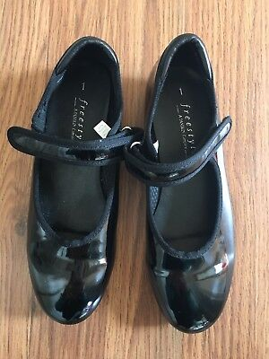 Freestyle Girl Dancing Tap Shoes Black Size 1
