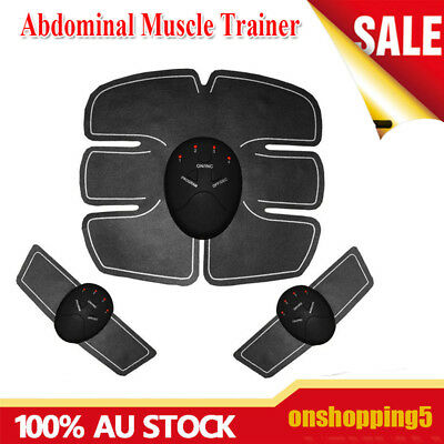EMS Muscle Stimulator,Abdominal Toning Belt ,Muscle Toner Abs Trainer Gear GW