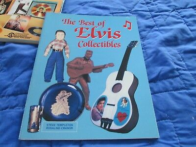 Elvis Presley BEST OF ELVIS COLLECTABLES SOFTCOVER BOOK