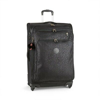 Kipling Youri Spin 78 One Size Black Scale Emb