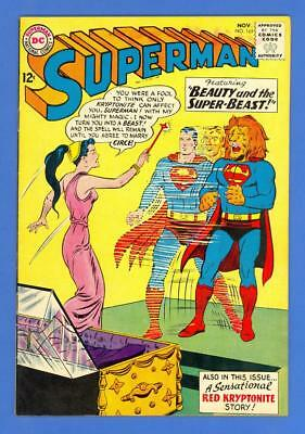 Superman #165 – Dc Comics (1963) – Beauty & The Super-Beast – High Grade!