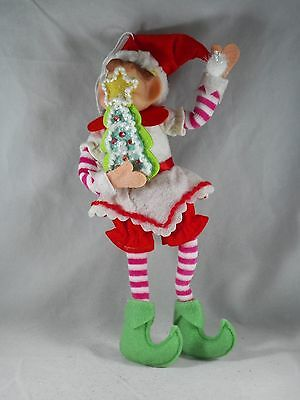Chef Elf with Tree Sugar Cookie Christmas Tree Ornament new holiday