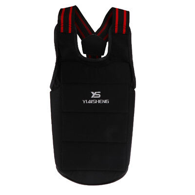 Chest Body Protector Vest Boxing Waist Guard Gear for Competition Training