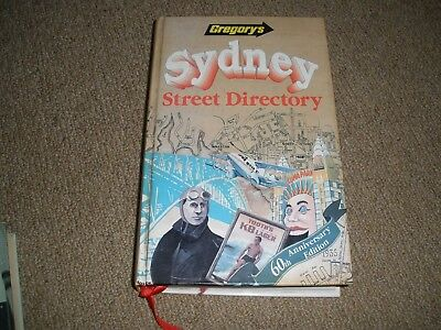 GREGORY'S SYDNEY STREET DIRECTORY 60th Edition