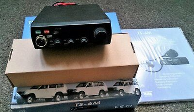 Team TS-6M is a Full Multi Norm cb mobile radio
