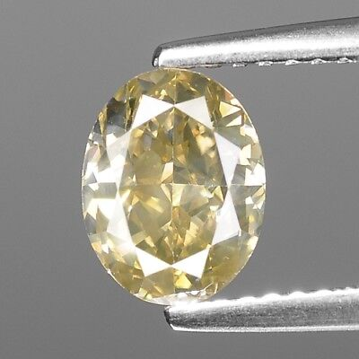 1.58 Cts GIL CERTIFIED GREENISH YELLOW COLOR NATURAL LOOSE DIAMONDS- VS1