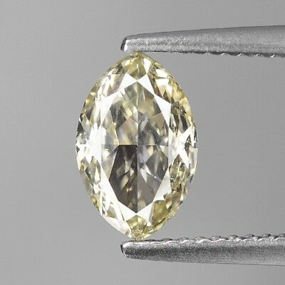 1.52 Cts UNTREATED RARE INTENSE YELLOW COLOR NATURAL LOOSE DIAMONDS- VS1