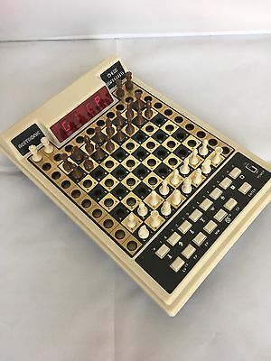 Vintage Acetronic Computer Chess Traveller Electronic Chess Game Boxed