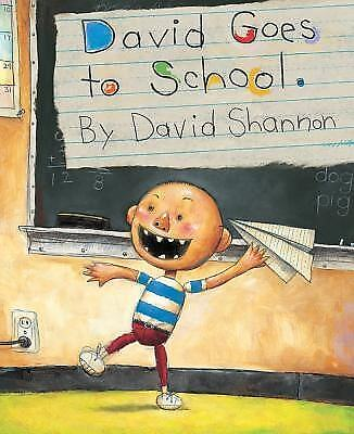 David Goes to School by Shannon, David 9780590480871 -Hcover