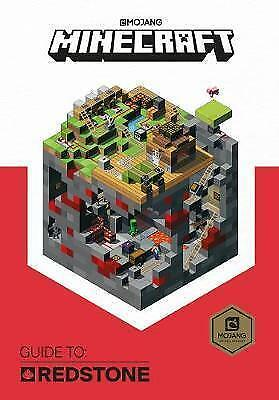 NEW Minecraft: Guide to Redstone: Official Minecraft Book from Mojang OCT 2017