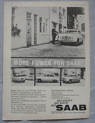 1966 SAAB Original advert