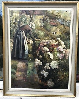 1960s IMPRESSIONIST OIL PAINTING SIGNED  S.ROYLE -  NO RESERVE