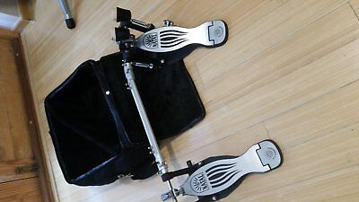 Natal Double bass drum pedal) + Padded bag