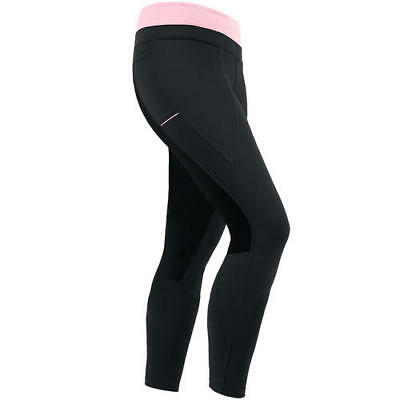 Kids' Thermasoft Bandit Riding Tights by Irideon