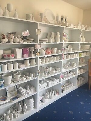 Paint Your Own pottery Business Stock For Sale. Pottery Painting Kiln Bisque etc