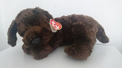 Ty Classic  - Nuzzle - Brown, soft dog