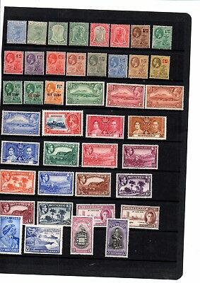 A Selection Of  Mint Stamps From Montserrat