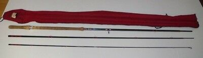 Vintage Bruce and Walker Hexagraph 14ft #10-12 3 Piece two handed fly rod - USED