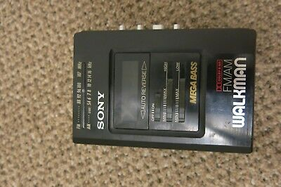 SONY WM-AF57/BF57 Cassette Tape WALKMAN