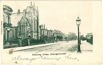 GRANGEMOUTH Charing Cross Scotland Stirlingshire Vintage Early  PC 1902