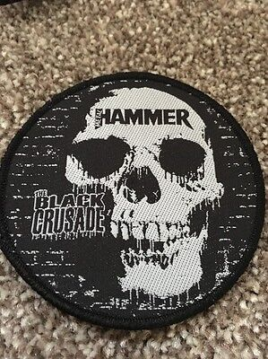 The Black Crusade UK Tour Patch. Machine Head Trivium Arch Enemy Dragonforce
