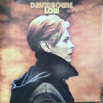David Bowie Low/Red Vinyl repress