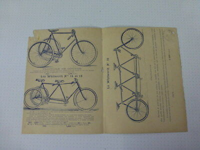 Whitworth Tricycle  Triplette