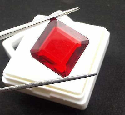 Gorgeous 21.85Ct Exclusive Red Topaz Superb Amazing Loose Gem