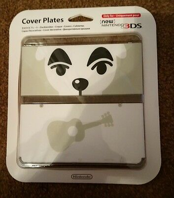 #41 KK Slider Animal Crossing Cover Plate for New Nintendo 3DS Official Nintendo