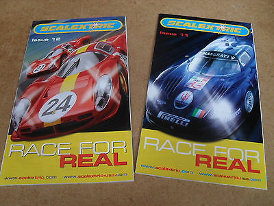 2 SCALEXTRIC SLOT CAR TOY CATALOGUES 11th & 12th 2006 EDITIONs MINT FOR AGE