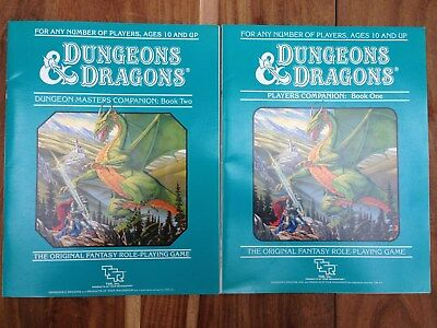 Dungeons and Dragons Companion Rulebooks - boxed set 3 - TSR