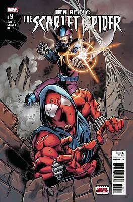 Ben Reilly Scarlet Spider #9 (2017) 1St Printing Bagged & Boarded Marvel Comics