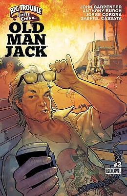 Big Trouble In Little China Old Man Jack #2 (2017) 1St Printing Boom Studios