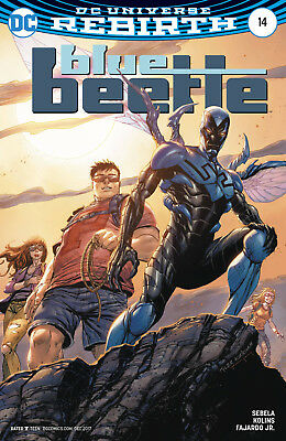 Blue Beetle #14 (2017) 1St Printing Variant Cover Dc Universe Rebirth