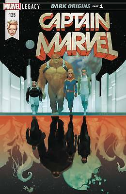 Captain Marvel #125 (2017) 1St Printing Bagged & Boarded Marvel Legacy Tie-In