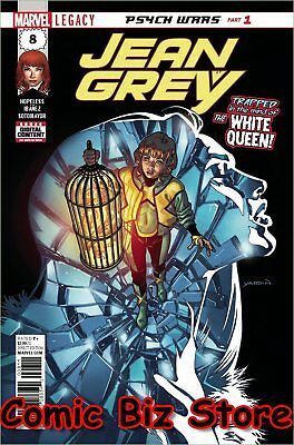 Jean Grey #8 (2017) 1St Printng Bagged & Boarded Marvel Legacy Tie-In