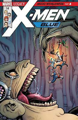 X-Men Blue #14 (2017) 1St Printng Bagged & Boarded Marvel Legacy Tie-In
