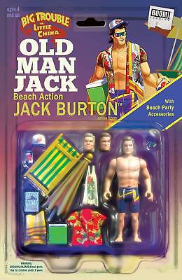 Big Trouble In Little China Old Man Jack #2 (2017) Action Figure Variant Boom