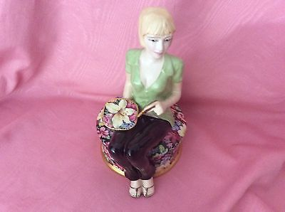Royal Winton Florence Chintz Figurine. Limited Edition