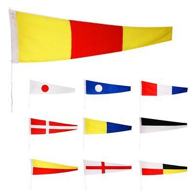 Naval Signal Flags / Flag Set - 100% Polyester - Set of Total 10 flag