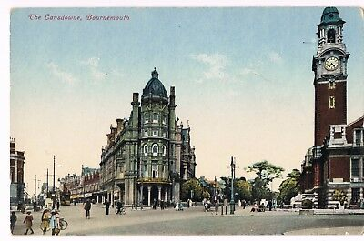 Bournemouth Hants The Lansdowne colour postcard unposted.